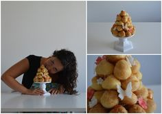 French Croquembouche Croquembouche, Baking Recipes, French, Breakfast, Life, Food, Cooking Recipes, Morning Coffee, French People