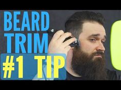 Best beard trimming and shaping tip you NEVER knew about!! | Tutorial - YouTube