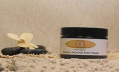English Lavender Body Polish Bath Salts and body scrubs - Offshore Breeze Natural EssentialsLet Nature Replenish You