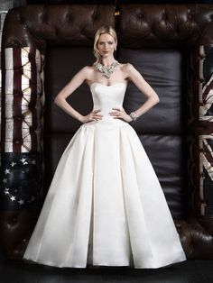 Cutaway Wedding Dress