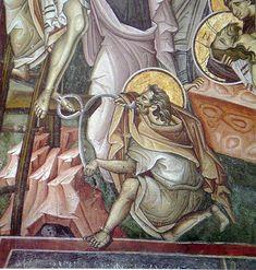Byzantine, Fresco, Vignettes, Princess Zelda, Paintings, Fictional Characters, Crosses, Fresh, Paint