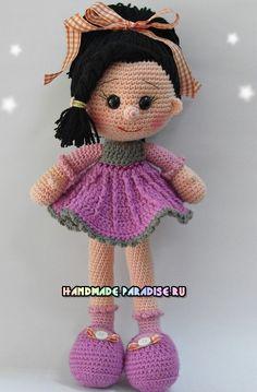 Амигуруми куколка Candy Doll крючком                                                                                                                                                                                 More