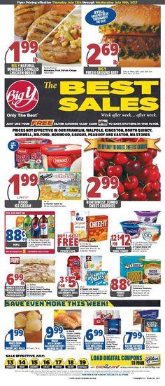Big Y Weekly Ad July 13 - 19, 2017 - http://www.olcatalog.com/grocery/big-y-circular.html