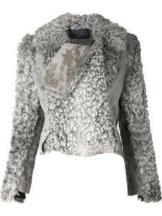 Proenza Schouler swakara fur jacket