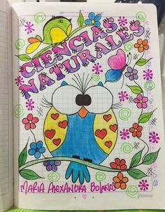 use coloring book sheets for page dividers Notebook Art, Notebook Doodles, Art Rules, Cool Journals, Mothers Day Crafts For Kids, Decorate Notebook, Best Friends Forever, Letter Art, School Supplies