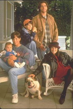 """Party of Five"" (1994-2000) - Cast included Scott Wolf, Matthew Fox, Neve Campbell and Jennifer Love Hewitt."
