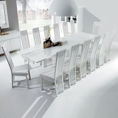 Kitchen - Dining Furniture  Like the pure, simplicity of this italian brand's dining set.  I am still undecided between round or rectangular table