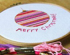 Christmas pattern, holiday decor, cross stitch pattern, christmas Cross Stitch, christmas ornaments Needlepoint on Etsy, $4.77 CAD