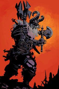 Duncan Fegredo & Ismael Bergara.. Concept art for Diablo III