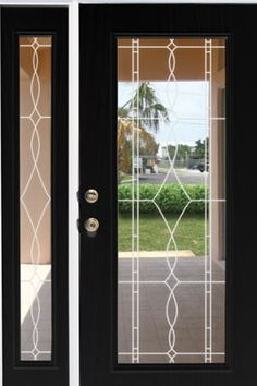 Allure Leaded Glass See Through Window Film