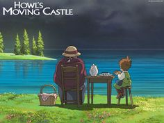 How Hayao Miyazaki Makes Studio Ghibli Films Feel Peaceful Howl's Moving Castle, Howls Moving Castle Wallpaper, Hayao Miyazaki, Castle In The Sky, Studio Ghibli Films, Howl And Sophie, Castle Tattoo, Cicely Mary Barker, Howls Moving Castle