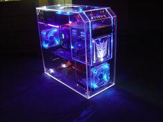Transparent Computer Case.