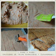 Embellecethe: Crackers de Trigo Sarraceno y Zanahoria Sin Gluten, Gluten Free, Paleo Life, Crackers, Yummy Food, Bread, Cooking, Healthy, Ethnic Recipes