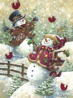 "Amazon.com: Springbok ""Gotta Love Snow"" 500 Piece Jigsaw Puzzle: Toys & Games"