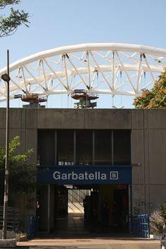 Vista nuovo Ponte dalla Stazione Garbatella - 2011