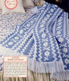 Тунисское вязание крючком. Техника, узоры и модели