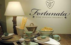 Fortunata Styling- Casa Mia Collection, High Point NCwww.brentgipsondesign.com Handmade Italian Ceramics