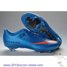 2013 cristiano ronaldo 6th style CR exclusive personal nike mercurial FG blue pink black For Sale