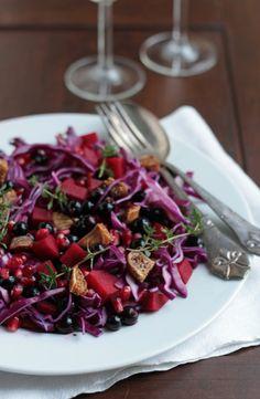 rødkål-rødbede-solbær-timian-salat