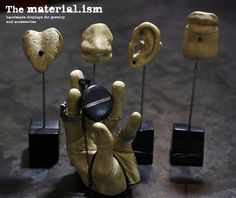 ism by TheMaterialism Piercing Shop, Etsy Seller, Place Card Holders, Display, Studio, Board, Creative, Unique, Earrings