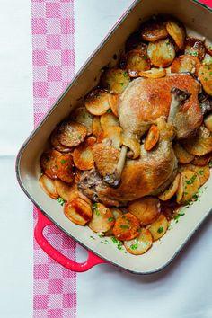 Recette de cuisse de canard par Alain Ducasse