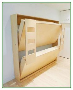 "Find out additional details on ""murphy bed ideas ikea apartment therapy"". Check out our web site. Bunk Beds Small Room, Modern Bunk Beds, Modern Murphy Beds, Cool Bunk Beds, Bunk Beds With Stairs, Kids Bunk Beds, Small Rooms, Loft Beds, Murphy Bunk Beds"