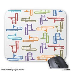 Trombones Mouse Pad