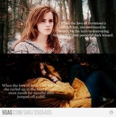 The reason why I live for Harry Potter weekends and laugh through the Twilight series...