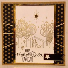 Newborn King stamp Stampin up Christmas handmade card by Angelica Rosa