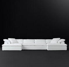 Cloud Track Arm Fabric Sofa | RH Modern