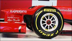 Ferrari F2012 F1 nose with karsperky logo