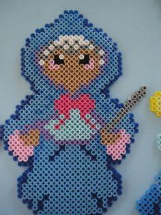 Cinderella's Fairy Godmother perler beads by PerlerHime on deviantART