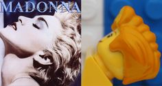 Madonna - LEGO Album Covers