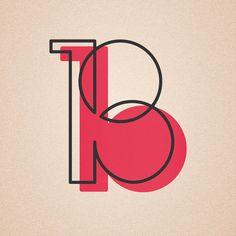 36 days of type - Jotaerrecoto #typography #font #design