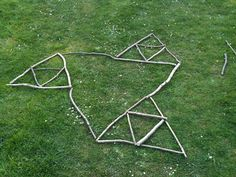 #  Scale and Geometric Patterns with Sticks