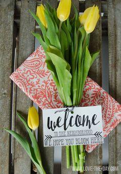 Neighbor Housewarming Gift Tag