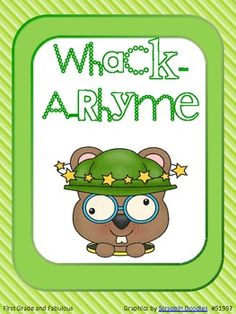 Whack-A-Rhyme - The kids would love this game!