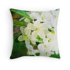 Romantic vintage mixed media floralFeb 15 15% off code TRTURSLF #treatyourself #pillows #cushions @campy photos