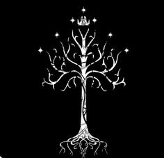 white tree of gondor with crown*
