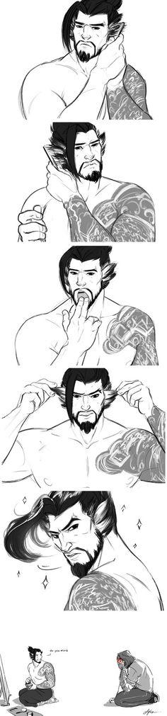 Overwatch Hanzo, Overwatch Comic, Overwatch Memes, Overwatch Fan Art, Genji And Hanzo, Hanzo Shimada, Nerd, Gaming Memes, Deviantart