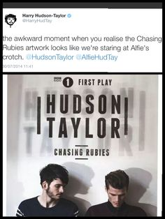 Hudson Taylor, When You Realize, Awkward Moments, All The Way, Haha, In This Moment, Ha Ha