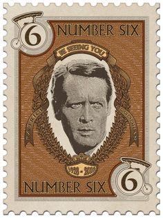 """The Prisoner """"memorial stamp""""--Patrick McGoohan"""