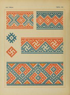 Osztyák himzések = Ostjakische Stickereien - Ostyak embroidery - Magyar Nemzeti Múzeum - 1921  (28 of 86)