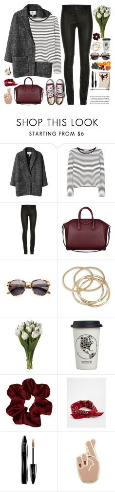 """2539. Great things never came from. comfort zones."" by chocolatepumma ❤ liked on Polyvore featuring Étoile Isabel Marant, MANGO, ElleSD, Converse, Givenchy, Alexander Wang, ABS by Allen Schwartz, Natural Life, ASOS and Lancôme"
