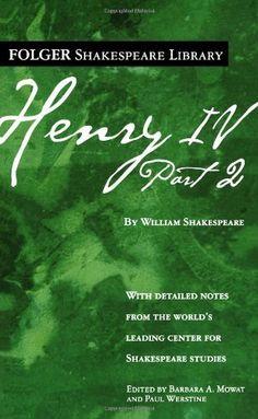 Henry IV, Part II (Folger Shakespeare Library): 9780743485050: Literature Books @ Amazon.com
