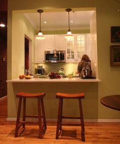 kitchen pass through   Cozy kitchen pass through