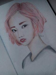 Girl's Day--Hyeri :} Girl's Day Hyeri, Girl Day, My Drawings, Female, Art, Craft Art, Kunst, Gcse Art, Art Education Resources