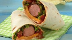 Wrap hot dogs in tortillas with taco fixin's, and you'll have a sassy meal in minutes.