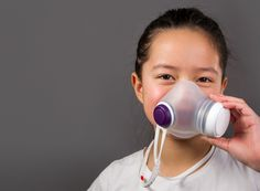 danish industrial design studio kilo creates an air pollution mask for children in collaboration with singapore health-tech startup airmotion laboratories.