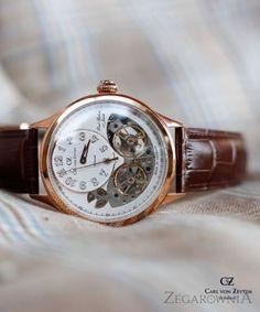 Carl von Zeyten CVZ0055RWH - Zegarek Gernsbach Automatic • Zegarownia.pl Omega Watch, Sims, Watches, Accessories, Wristwatches, Mantle, Clock, The Sims, Ornament